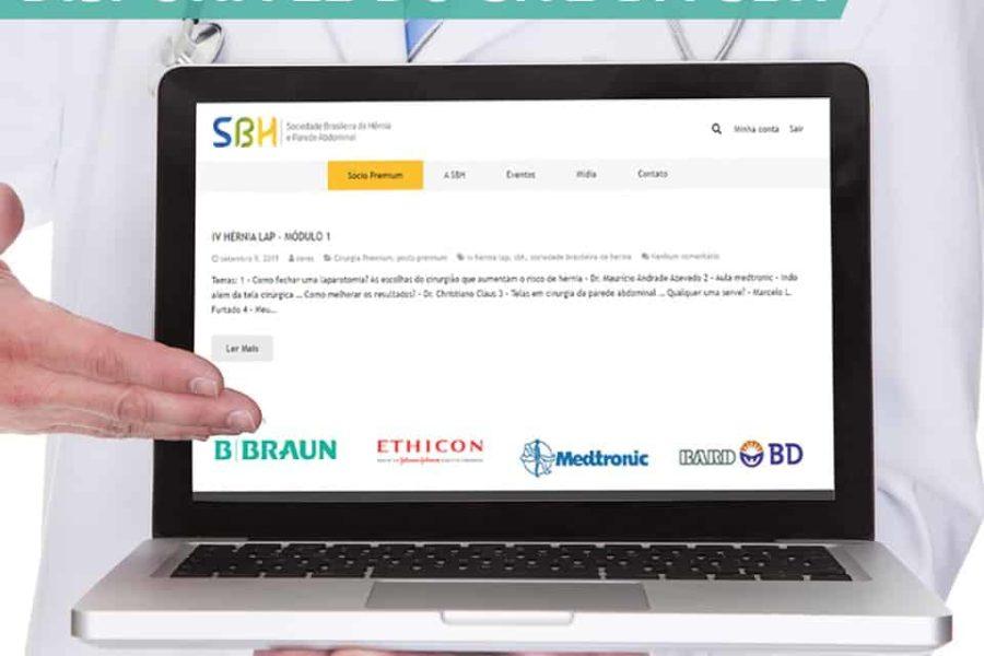 IV Hérnia Lap disponível no site da SBH