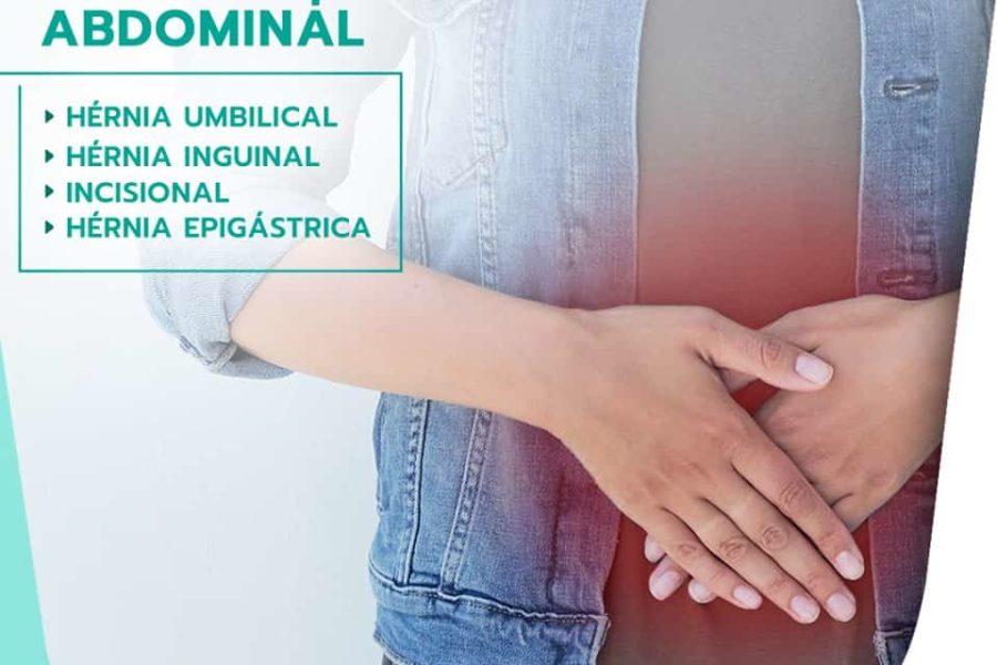 4 tipos de hérnia da parede abdominal