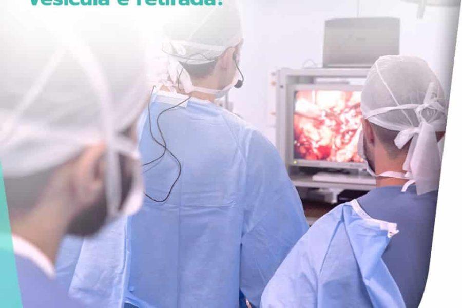 O que acontece com o corpo quando a vesícula é retirada?