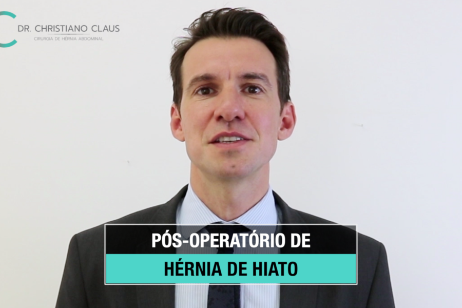 Pós-operatório de hérnia de hiato