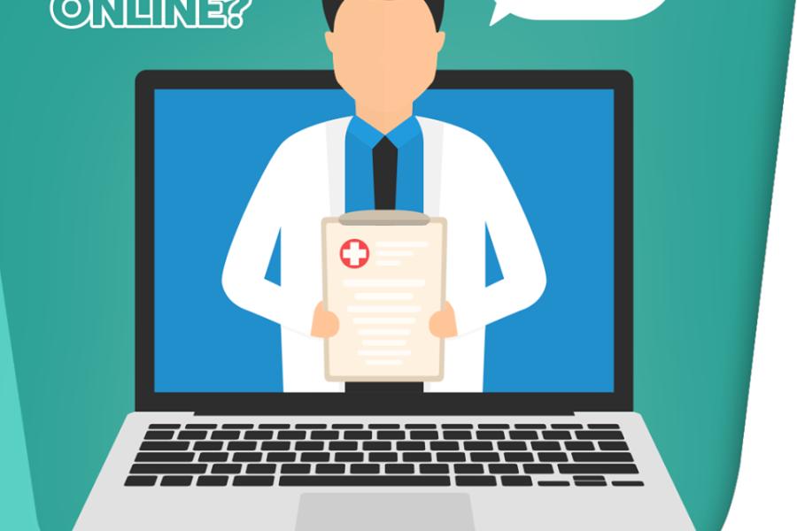 Quando é possível fazer uma consulta online?