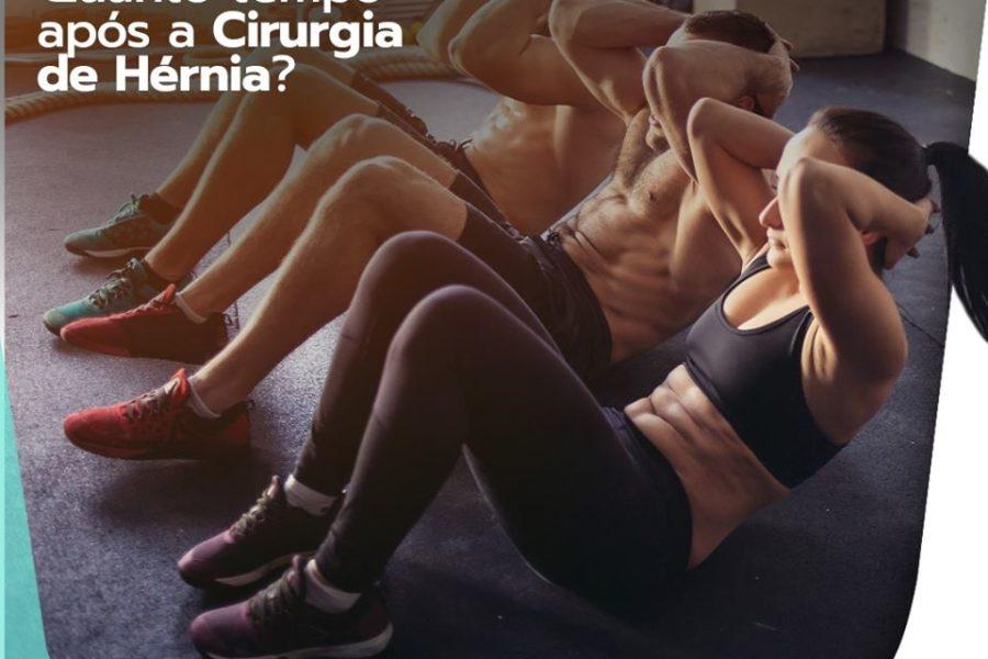 Exercício de abdominal: quanto tempo após a cirurgia de hérnia?
