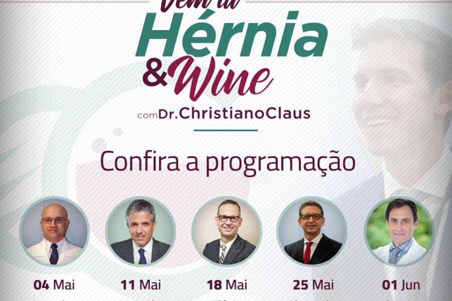 Confira a programação do Hérnia & Wine