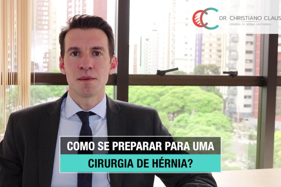 Como se preparar para uma cirurgia de hérnia?