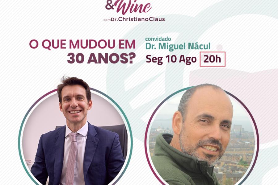 Hérnia & Wine com Miguel Nácul