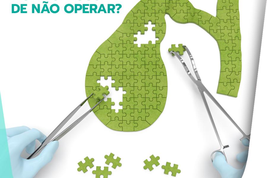 Cálculos na vesícula: qual o risco de não operar?
