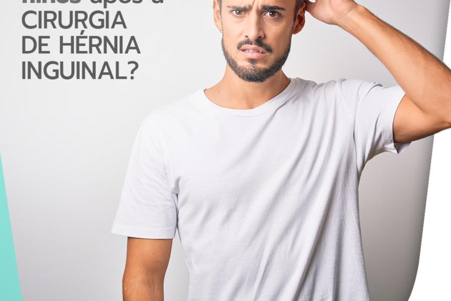 Vou poder ter filhos após a cirurgia de hérnia inguinal?