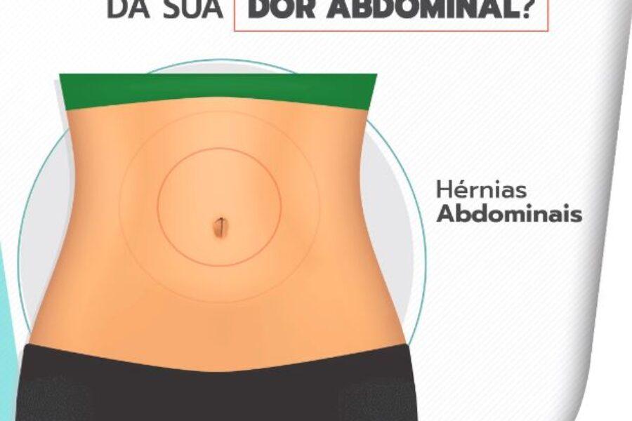 Quais as características da sua dor abdominal?