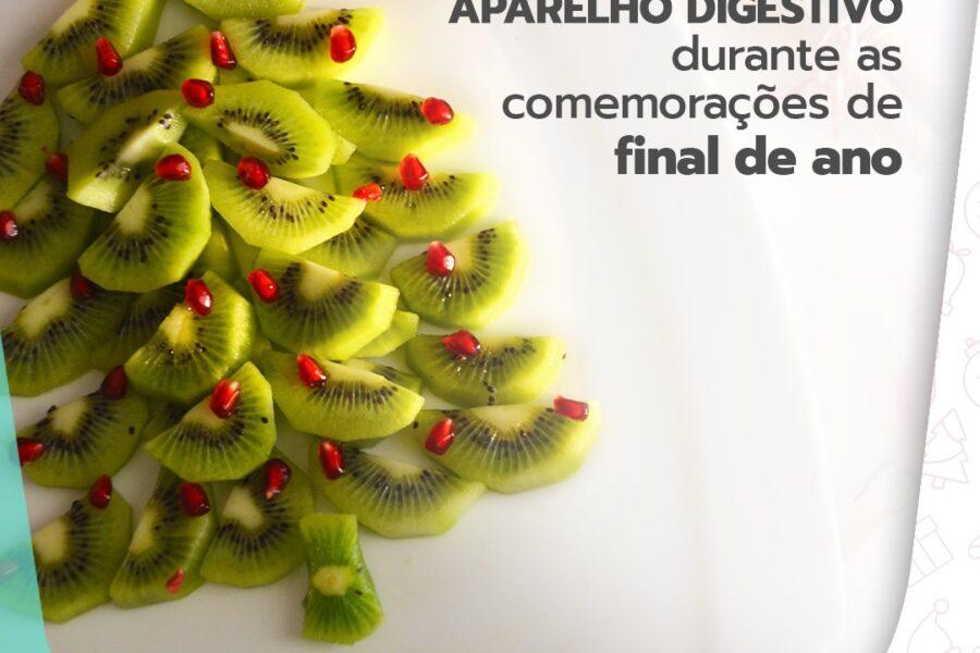 Cuide do seu aparelho digestivo durante as comemorações de final de ano