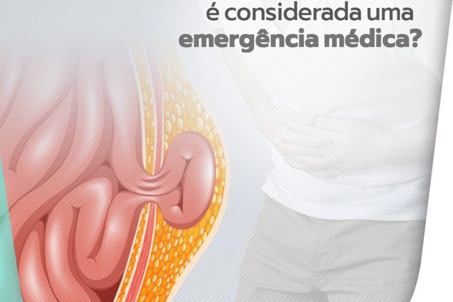 Quando a hérnia é considerada uma emergência médica?