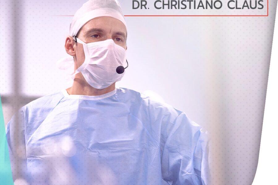 Confira o currículo do Dr. Christiano Claus