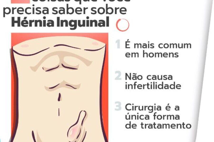 03 coisas que você precisa saber sobre hérnia inguinal