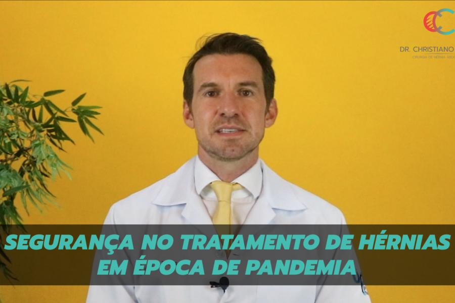 Segurança no tratamento de hérnias em época de pandemia