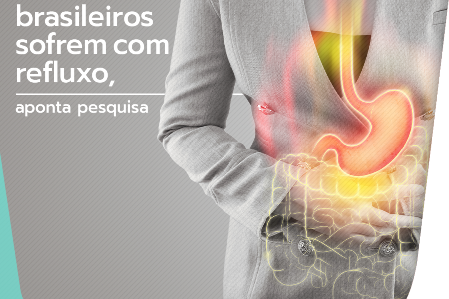 51% dos brasileiros sofrem com refluxo, mostra pesquisa